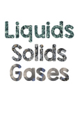 Solids, Liquids and Gases Bulletin Board Letters #AUSBTS18
