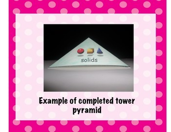Solids, Liquids, and Gases Interactive Pyramid Foldable