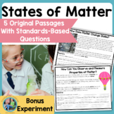 Matter: Solids, Liquids and Gases: Science Reading Comprehension Passages