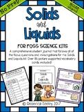 Solids and Liquids-FOSS A Fun, Kid Friendly, Science Journal