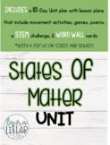 States of Matter Unit