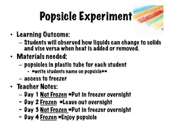 Solids and Liquids Research Journal - with Experiments!