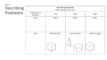 Solids and Nets -  Interactive Note-Taking Materials