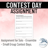 Solo/Ensemble/Small Group Contest Assignment