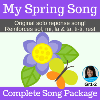 Solo Response - s,m,l & ta, ti-ti, rest | My Spring Song | Complete Song Package