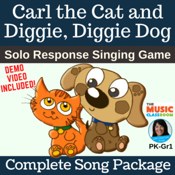 Solo Response Song | Carl the Cat and Diggie, Diggie Dog | Complete Package