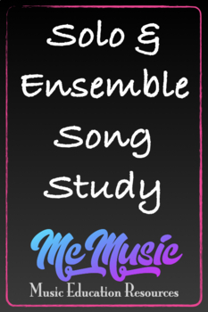 Solo and Ensemble Song Study