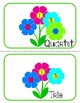 Solo to Sextet Flower poster cutouts