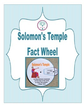Solomon's Temple Fact Wheel Freebie