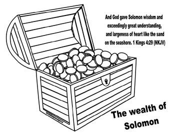 Solomon's Wisdom & Wealth Freebie