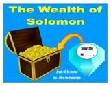 Solomon's Wisdom & Wealth