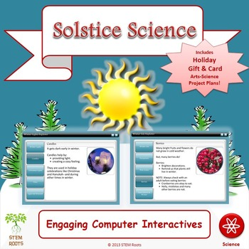 Solstice Science STEM/STEAM Lesson Plans (NGSS 1-ESS1/1-ESS-2)