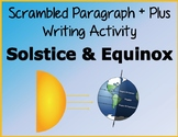 Solstice and Equinox: Scrambled Paragraph + Plus