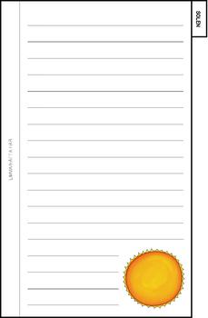 Solsystem flip book
