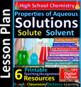 Solubility Factors and Guidelines -  Guided Study Notes for HS Chemistry