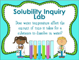 Solubility Inquiry Lab