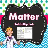 Solubility Mini Lab
