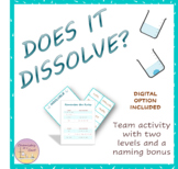 Solubility Rules Activity – Sorting and Naming Compounds -