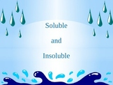 Soluble and Insoluble Power-point and Activity Prompt: