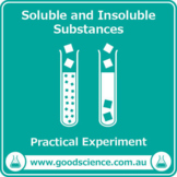 Soluble and Insoluble Substances [Practical]