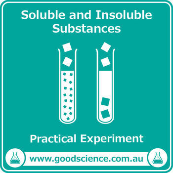 Soluble And Insoluble Worksheets & Teaching Resources | TpT