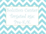 Solution Center Lesson plan and print out