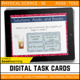Solutions, Acids, and Bases Digital Task Cards - Boom Card