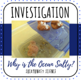Solutions, Erosion and The Water Cycle Experiment: Why is the Ocean Salty?