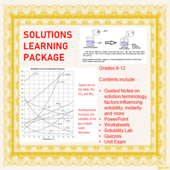 Saturated Unsaturated Supersaturated Solution Worksheets ...