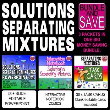 Solutions Mixtures Bundle
