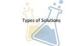 Solutions Note Slides