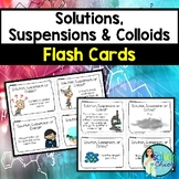 Solutions, Suspensions & Colloids Flash Cards