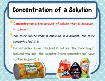 Solutions, Suspensions and Colloids Lesson