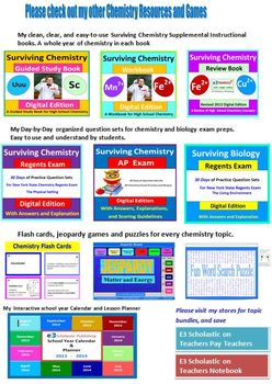 Solutions: a fun word search puzzle for HS Chemistry