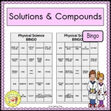 Solutions and Compounds BINGO