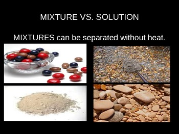 Solutions and Mixtures PowerPoint