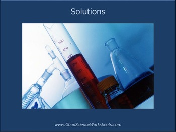 Solutions and Solubility [Presentation]