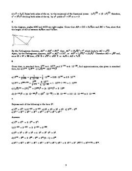 Solutions for miscellaneous exercises Chapter 2 of Pure Mathematics 1
