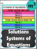 Solutions of Systems of Equations DIGITAL NOTES & 2 QUIZZE