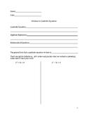 Solutions to Quadratic Equations