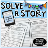Solve A Story {Creative Writing & Problem Solving}