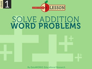 Solve Addition Word Problems