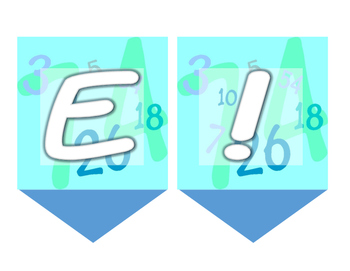 Solve! Banner for Math Area/Wall