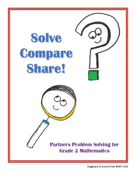 Solve-Compare-Share! Two-Digit Addition