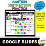 Solve & Cover Addition and Subtraction + Google Slides + Distance Learning