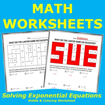 Solve Exponential Equations Using Properties of Exponents