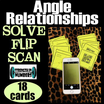 Solve, Flip, Scan QR CODE Angle Relationships