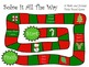 Solve It All The Way- A Math & Holiday Trivia Board Game Gr. 2 QR edition
