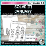 Winter Math Activities   Problem Solving and Critical Thinking