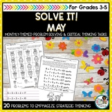 Solve It! May: Spring Math Problem Solving and Critical Th